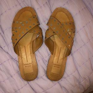 Studded Criss-Cross Sandals
